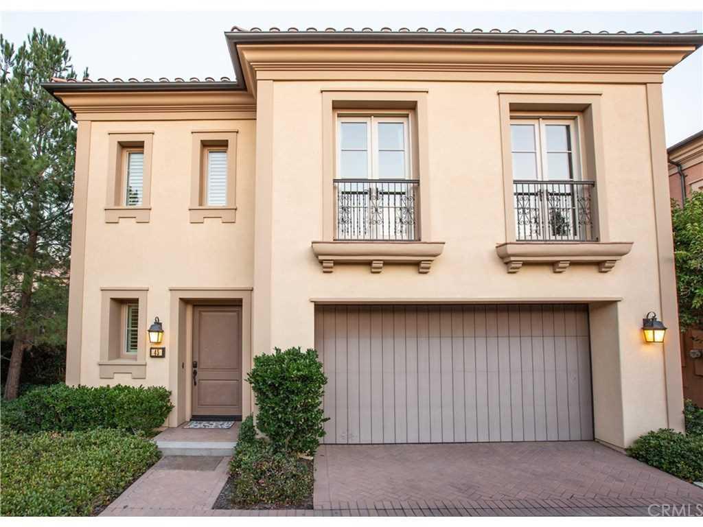 45 Brindisi Irvine, CA 92618 | MLS PW18293801 Photo 1