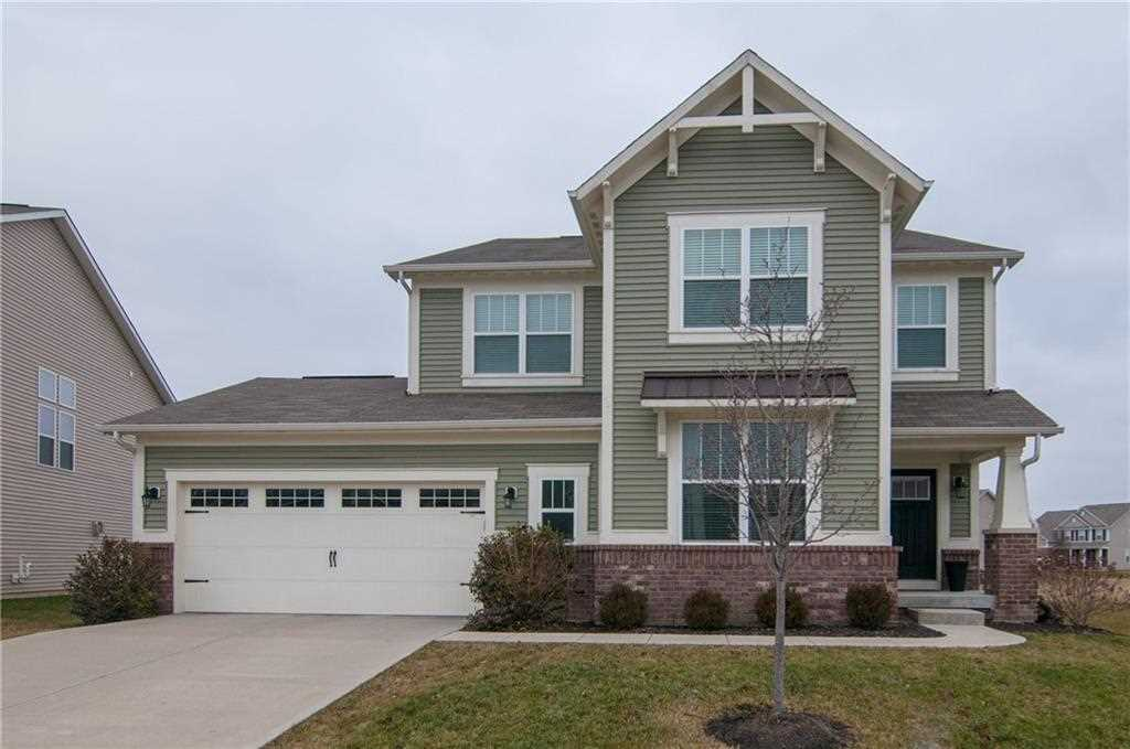 7804 Ringtail Circle, Zionsville, IN 46077 | MLS #21614018 Photo 1