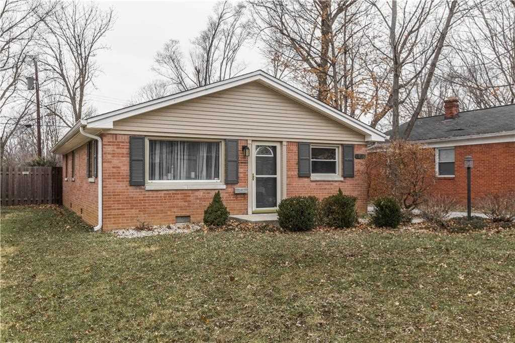 5736 Hillside Avenue, Indianapolis, IN 46220 | MLS #21614295 Photo 1