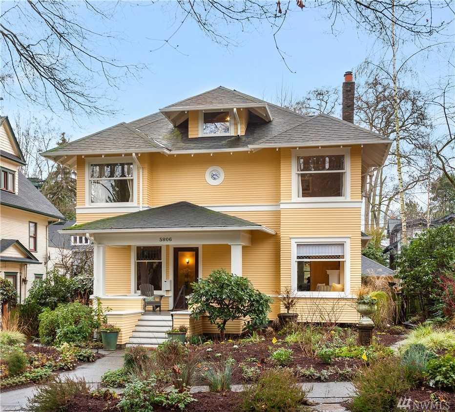 5806 16th Ave NE Seattle, WA 98105 | MLS ® 1399631 Photo 1