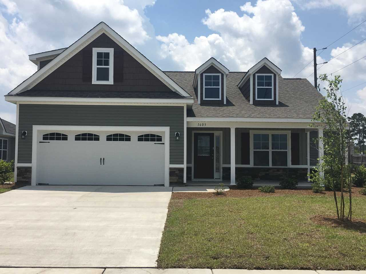 Home For Sale At 1603 Pine Harbor Way, Leland NC in Windsor Park Photo 1