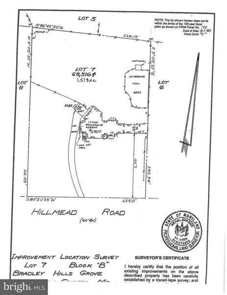 6807 Hillmead Rd Bethesda, MD 20817 | MLS ® MDMC488302 Photo 1