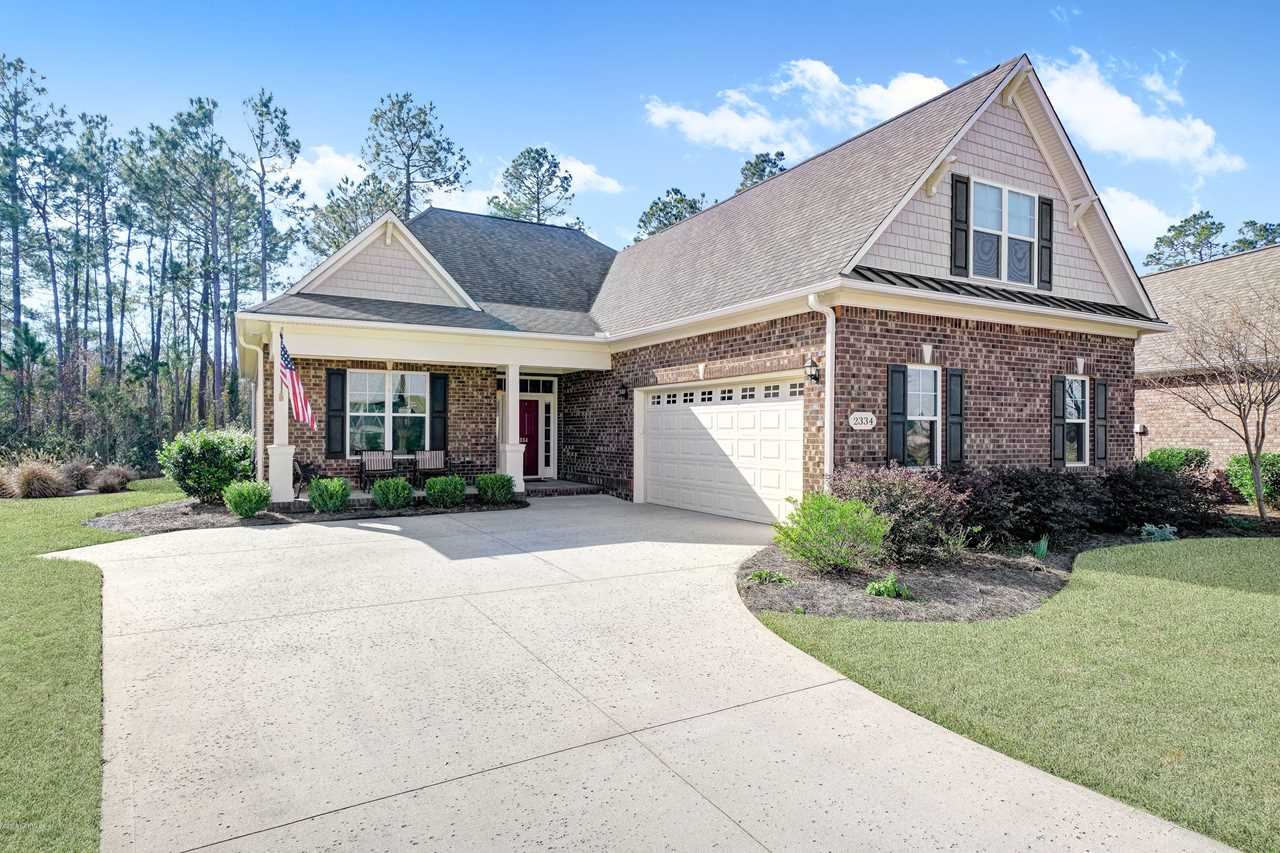 Home For Sale At 2334 Sedgewren Loop, Leland NC in Compass Pointe Photo 1