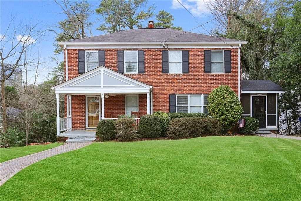 2176 Edison Ave NE, Atlanta GA 30305, MLS # 6121053 | Peachtree Hills Photo 1