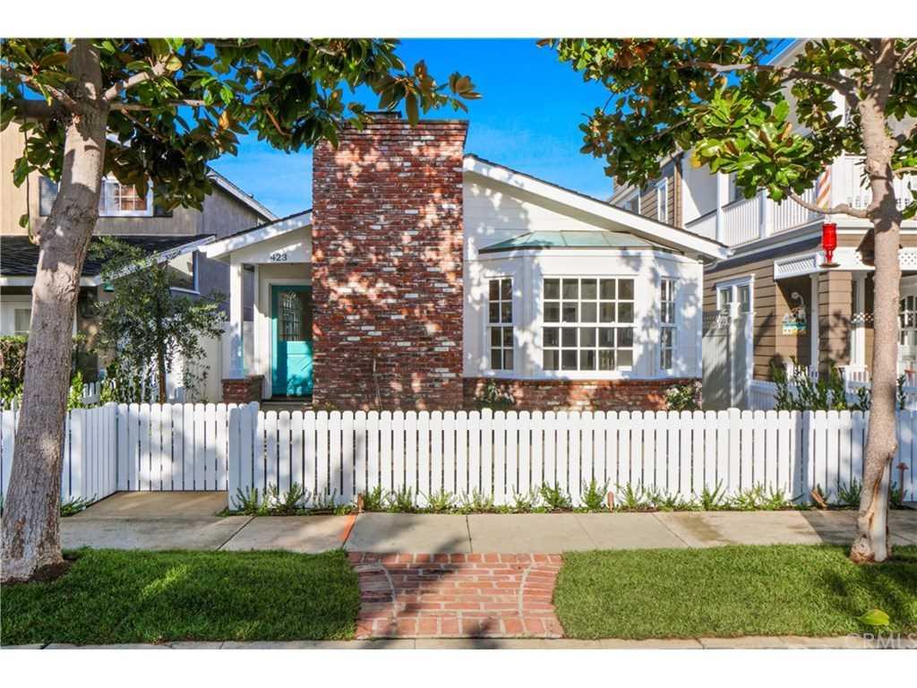 423 Fernleaf Avenue Corona Del Mar, CA 92625   MLS PW19008937 Photo 1