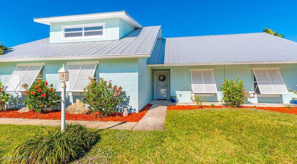 260 Pompano Drive Melbourne Beach, FL 32951 | MLS 833888 Photo 1