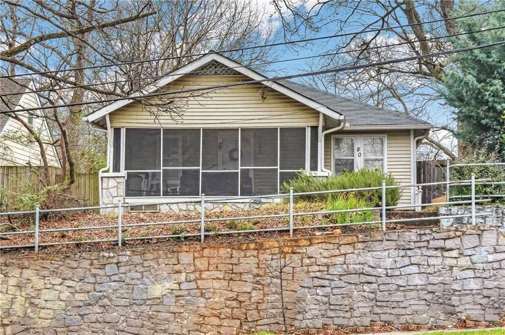 80 Moreland Ave SE is a homes for sale located in the Edgewood community of Atlanta Photo 1