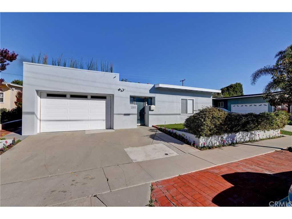 1181 Tennyson Street in Manhattan Beach, CA - MLS# SB19018257 Photo 1