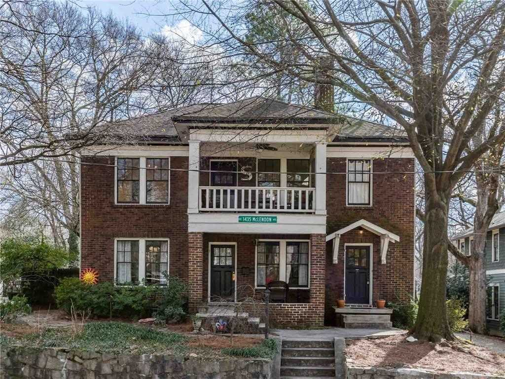 1433 Mclendon Ave NE is a homes for sale located in the Candler Park community of Atlanta Photo 1