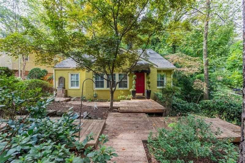 1490 Wessyngton Rd NE is a homes for sale located in the Morningside community of Atlanta Photo 1