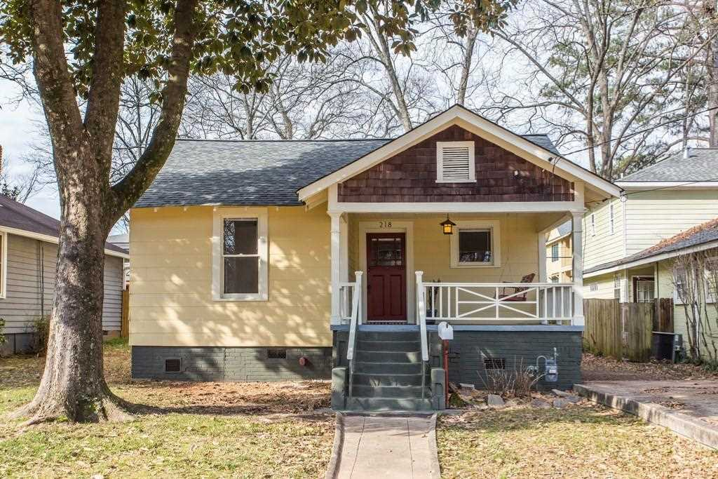 218 Lowry St NE is a homes for sale located in the Edgewood community of Atlanta Photo 1