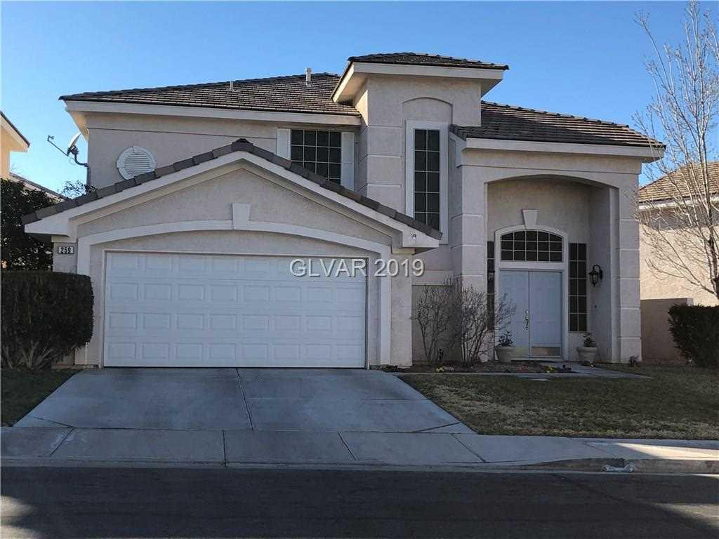 259 Horizon Pointe Circle Henderson, NV 89012   MLS 2065767 Photo 1