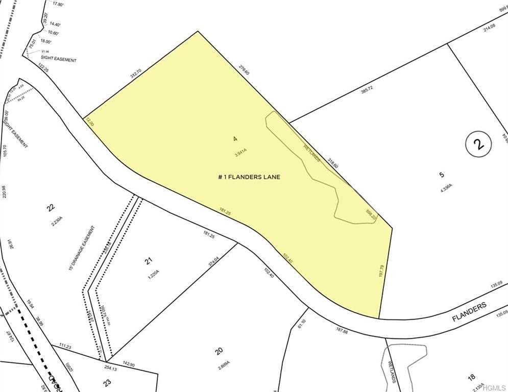 lot for sale, 1 Flanders Ln, Cortlandt, MLS #4810249 Photo 1