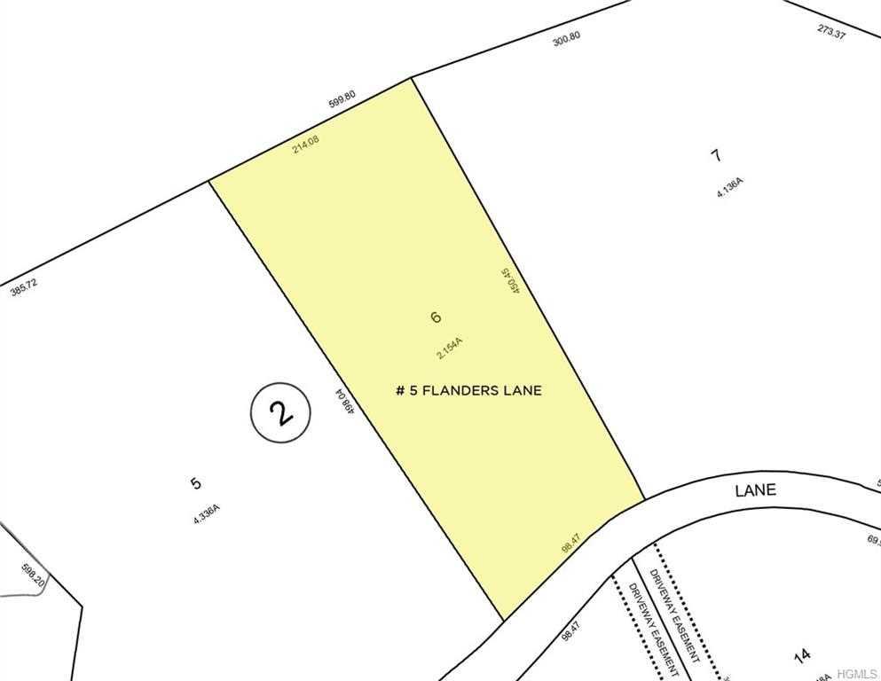 lot for sale, 5 Flanders Ln, Cortlandt, MLS #4810253 Photo 1
