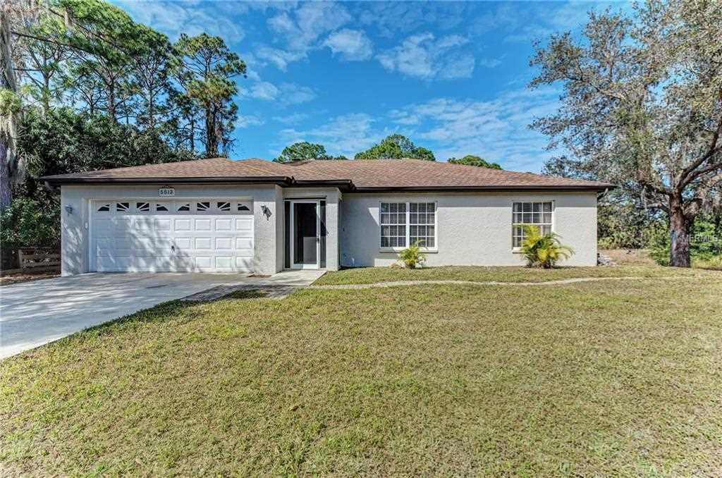 5513 Sunnyvale Road North Port, FL 34288   MLS D6105258 Photo 1