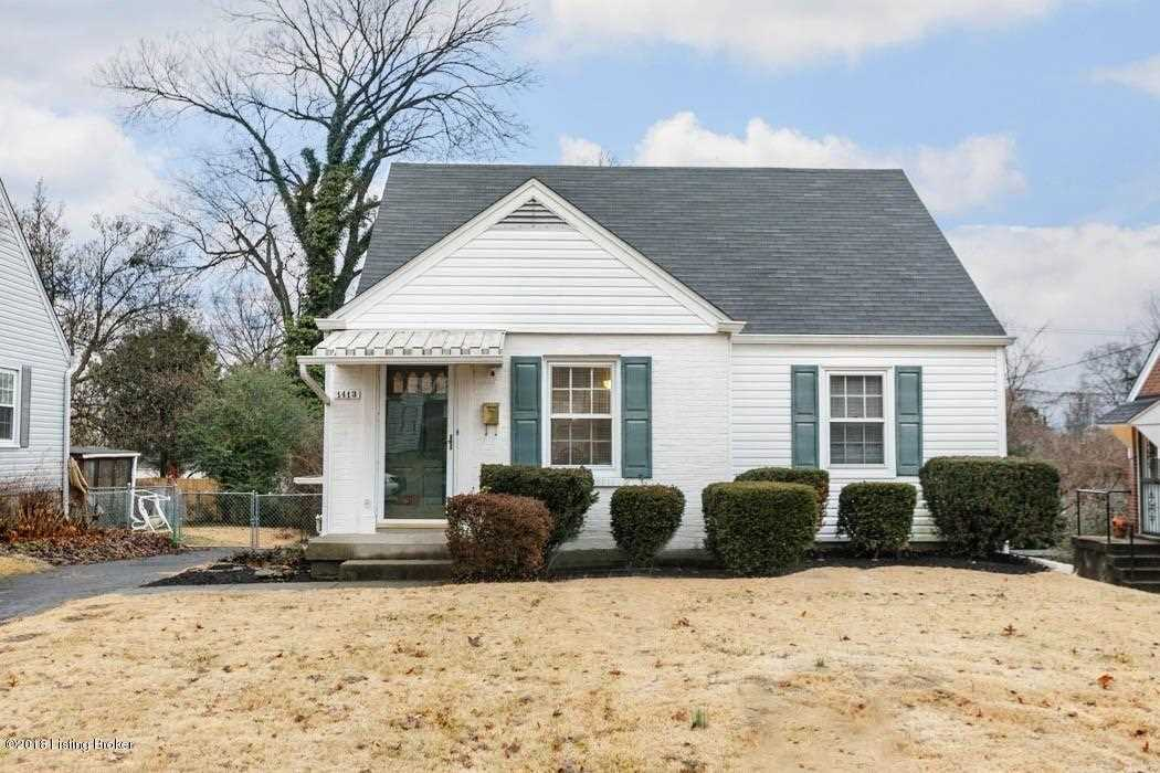 1413 Valley Dr Louisville, KY 40213 | MLS 1521505 Photo 1