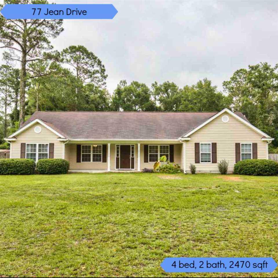 Arbor Oaks Florida: 77 Jean Drive Crawfordville, FL 32327 In Wildwood Acres