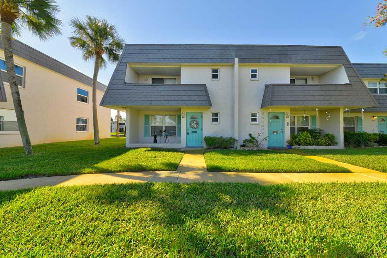 416 Dove Lane #18 Satellite Beach, FL 32937 | MLS 841939 Photo 1