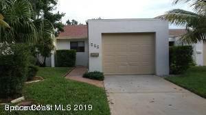 414 Hawthorne Court Indian Harbour Beach, FL 32937 | MLS 842144 Photo 1
