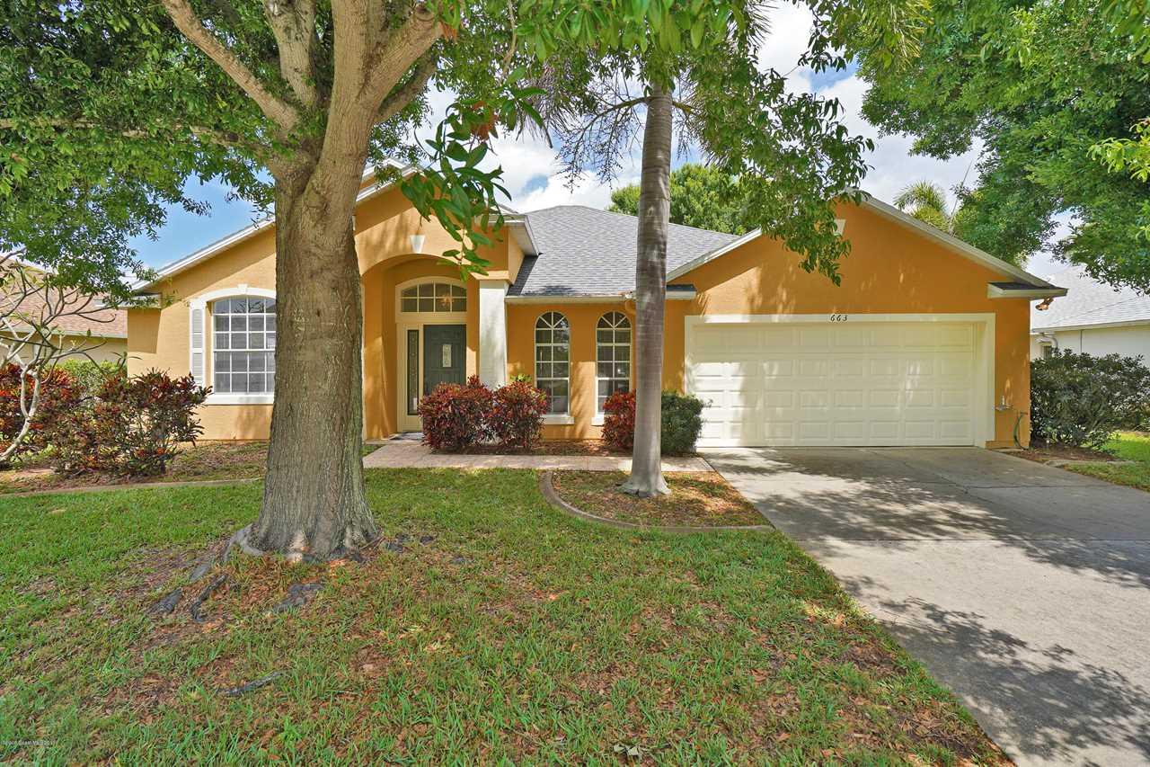663 Heather Stone Drive Merritt Island, FL 32953 | MLS 842222 Photo 1
