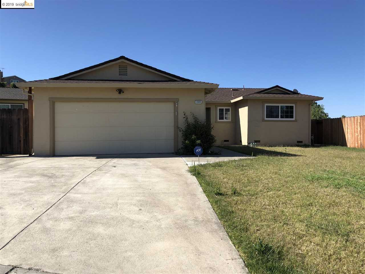 3314 Canim Ct. Antioch CA - Antioch Homes For Sale | California Delta Homes Photo 1