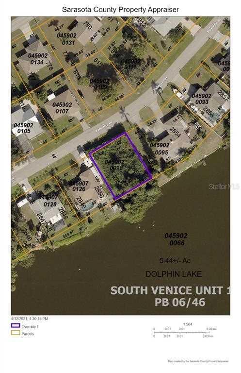 Palmetto Dr Venice, FL 34293 | MLS D6117901