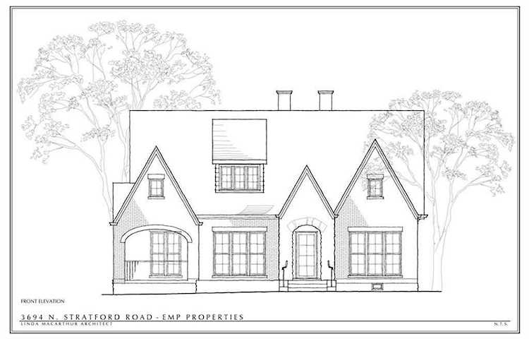 3964 N Stratford Rd NE is a homes for sale located in the ... Plans For Model Homes Stratford Mcarthur on