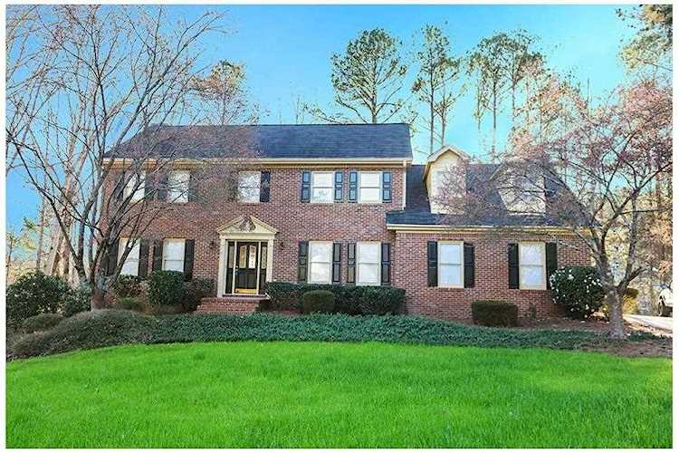 Outstanding Stately Colonial On Lake Front Lot Enjoy Tranquil Setting On Rocking Chair Front Porch Or 5810573 Interior Design Ideas Clesiryabchikinfo