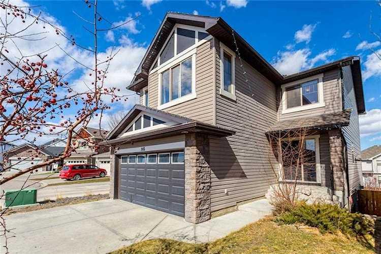 165 Cranwell Bay Se Calgary Real Estate Cranston Homes For